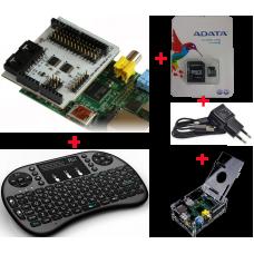 Mega Kit de Desenvolvimento Raspberry com Shield