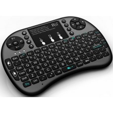 Combo Mini Teclado com Mouse sem Fio para Raspberry