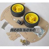 Kit Robô 2wd com Interruptor